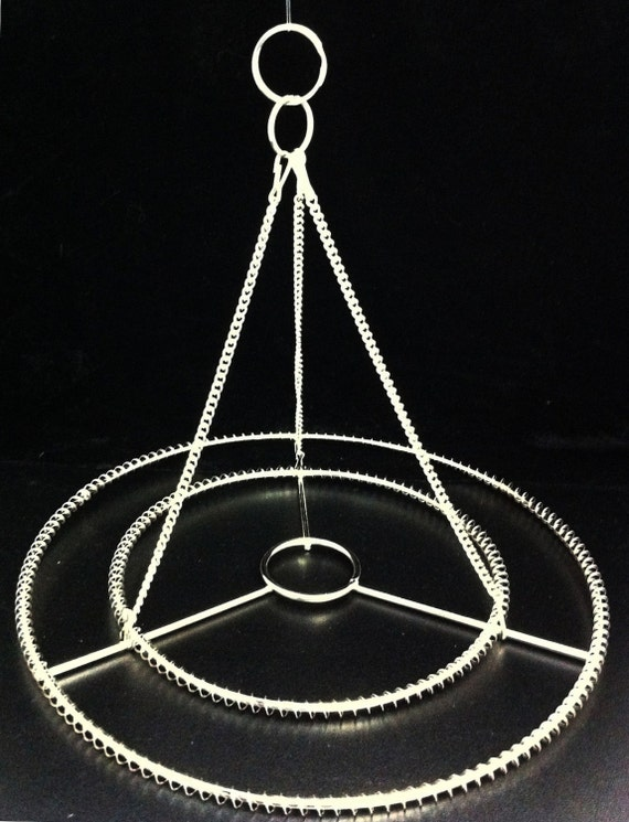 2pcs 10 or 14 w stainless steel chandelier frame etsy image 0 aloadofball Image collections
