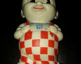 51929b5da54 1970s Collectible Vintage Retro Bobs Big Boy Coin Money Piggy Bank 8.5