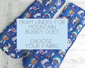 Mountain Buggy Duet Pram liner / Stroller liner