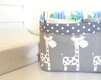 Nursery storage basket (wide)