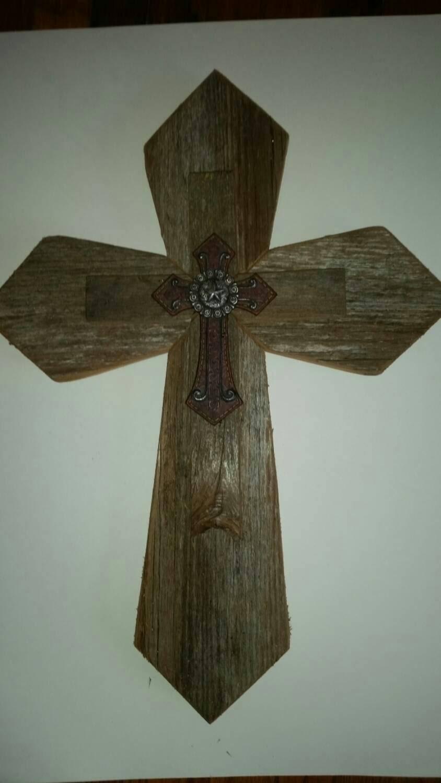 Unique Western Style Sale Rustic Cedar Wood Wall Cross