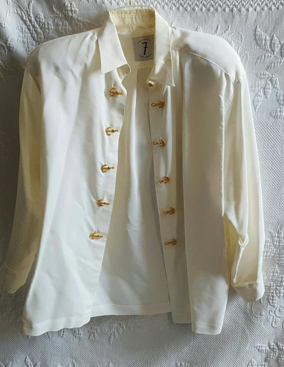 Vintage TODD OLDHAM blouse