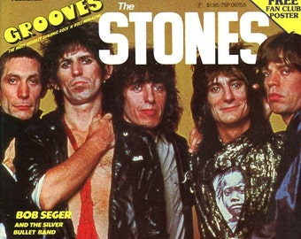 Vintage Grooves magazine Paul Stanley on cover nm uncirculated
