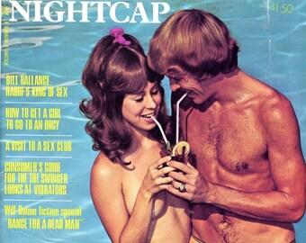 Nightcap Magazine   1973  Gorgeous Women Pinups  Radio's King of Sex  Orgy Girls   Sex Club  Swingers  Pretty Gals more    mature