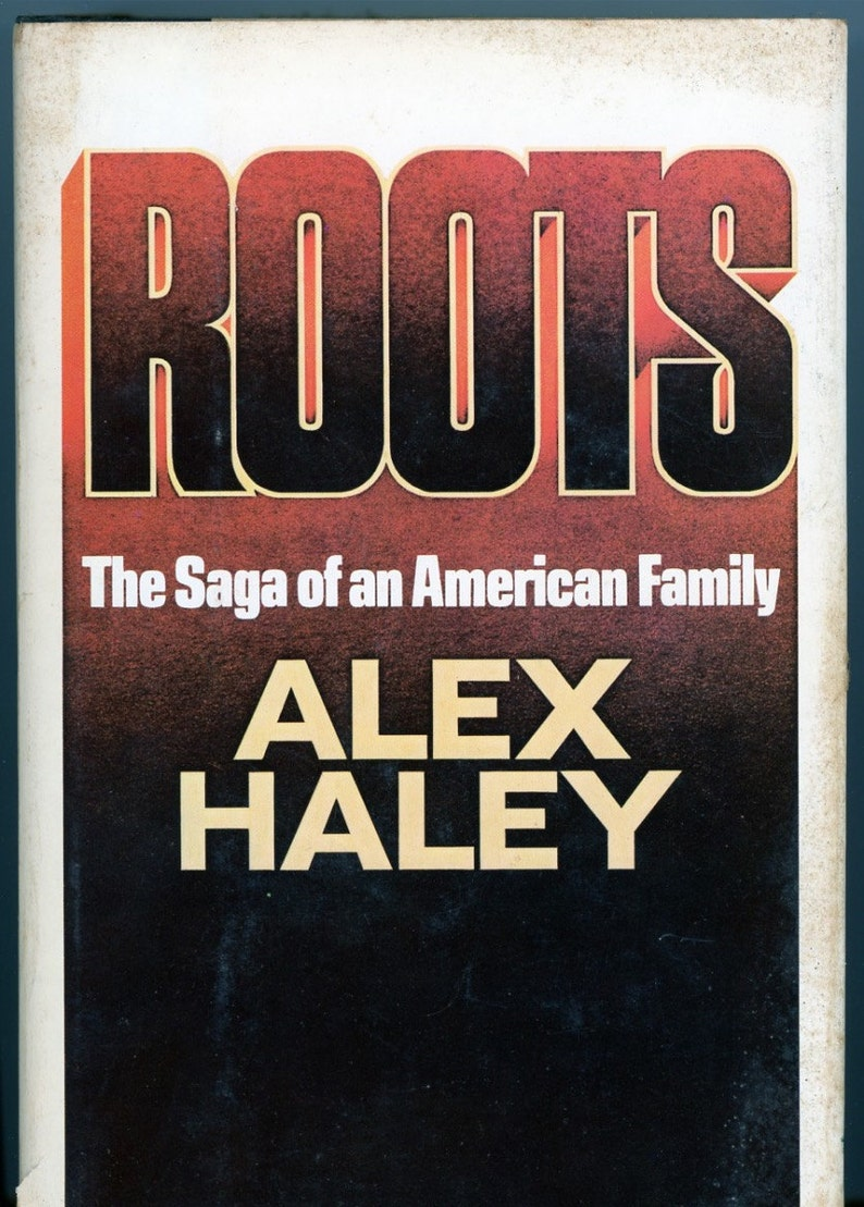 Book  Roots  by Alex Haley   1976 First Edition  w/ Dust image 0