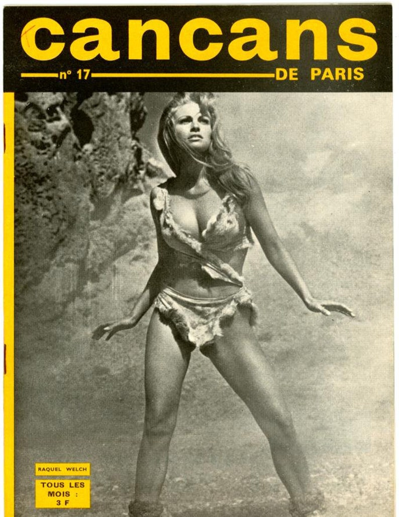 CanCans  Magazine  1966  French Publication   Raquel Welch image 0