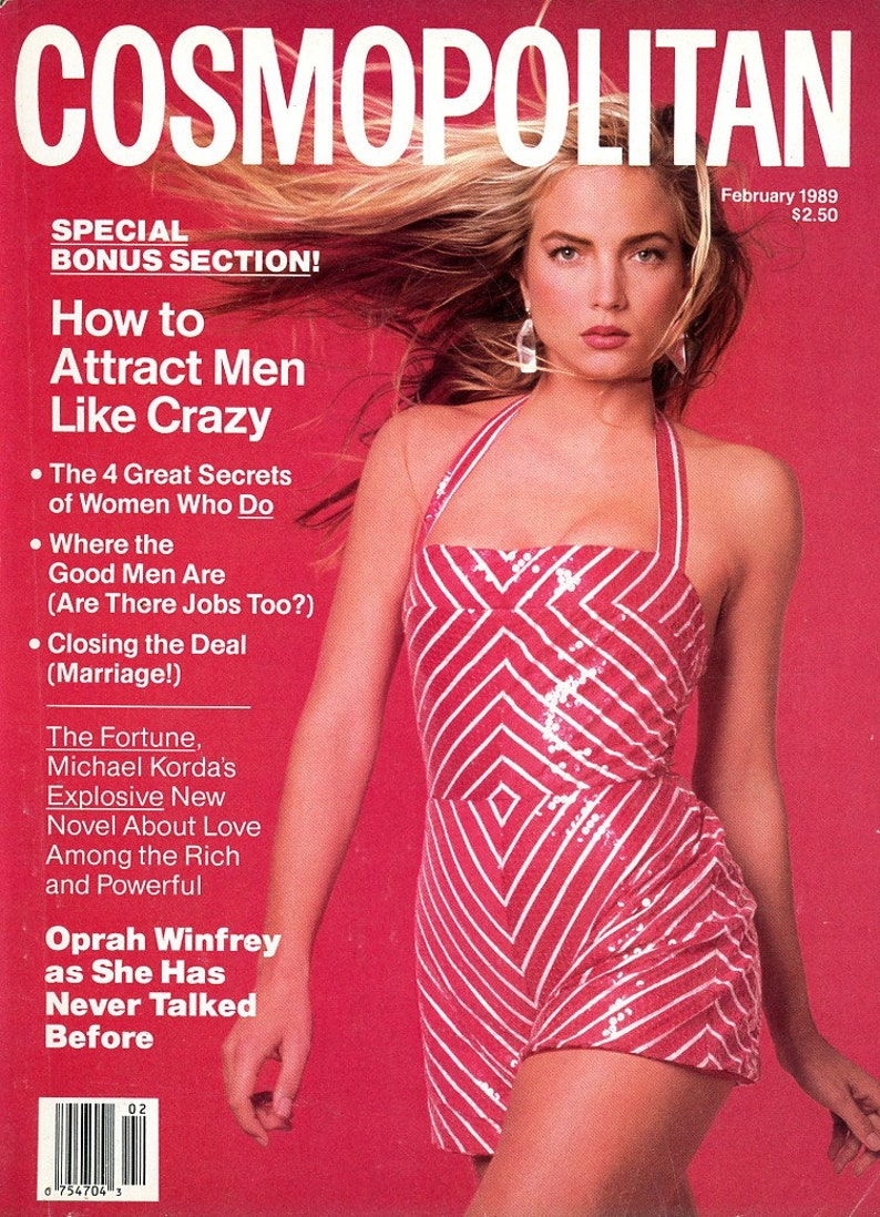 Cosmopolitan 1989  Rachel Williams on Cover  plus  Jodie image 0