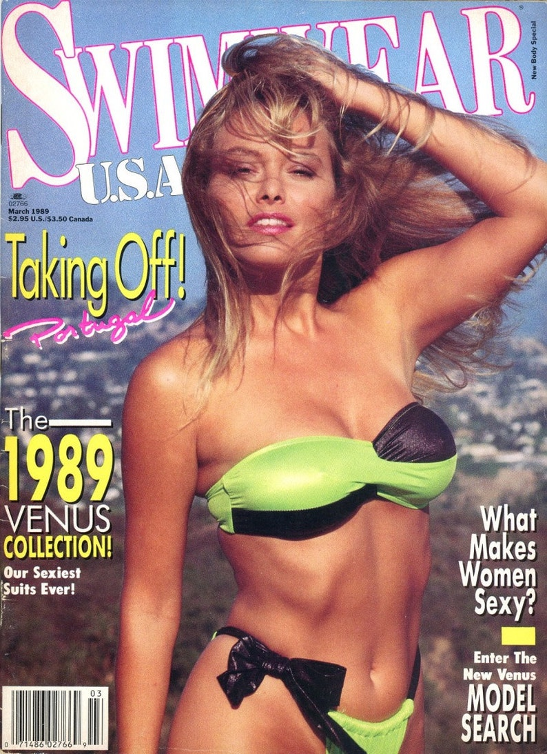 Swimwear USA Magazine 1989   Beautiful Women throughout the image 0