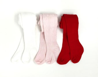 dc3b21ef1db Baby cable knit tights