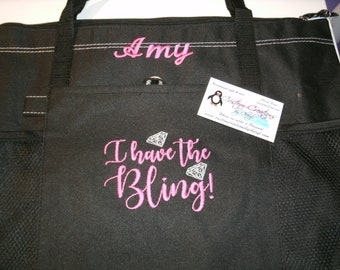 Personalised Mix Unicorn Tote bag Girls Gift storage luxury shoulder shoe bag