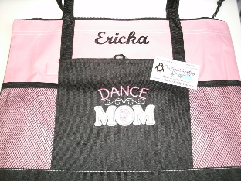Dance Mom Personalized Personalized Tote Bag Personalized Tote bag .. Great Sports Fan Gift Idea ! Dance Mom Gift