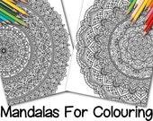 Two Full-Page Mandalas fo...