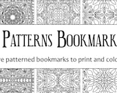 Tiled Patterns Bookmark P...