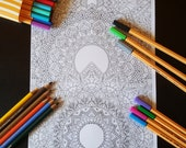 Mandalas Detailed Colouri...