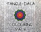 Tangle-Dala Digital Colou...