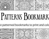 Tiled Patterns Bookmark P...