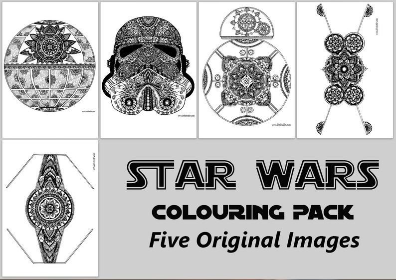 Star Wars Digital Colouring Pack image 0