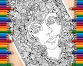 Lady Doodle Page