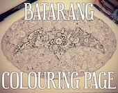 Batarang Detailed Colouri...