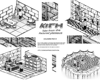 Kith Digital Colouring Pack