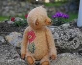 Beige artist teddy bear  ...