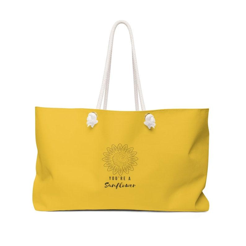 Weekender Bag You/'re A Sunflower