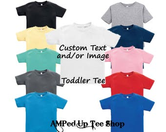 f8f407b9 Custom Toddler Shirt/ Custom T-shirt / Customized Tee / Design Your Own  Shirt / Custom Raglan Shirt, Toddler Raglan, Toddler Tshirt