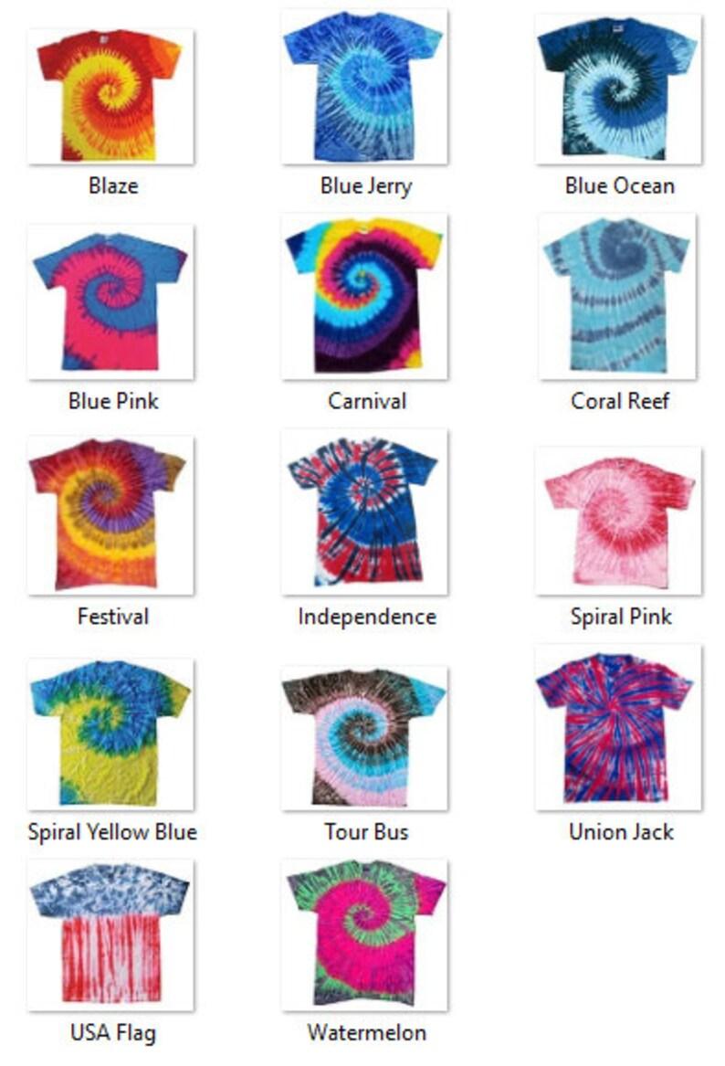 8069504a3eab7f Custom Adult Tie Dye Shirt  Custom T-shirt   Customized Tee