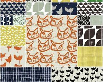 Hemma designed by Lotta Jansdotter for Windham Fabrics - Fat Quarter Bundle - Great Price!