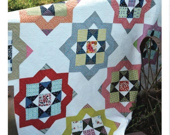 All Squared Up Quilt Pattern designed by May Chappell