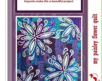 My Paisley Flower Quilt by Passionately Sewn