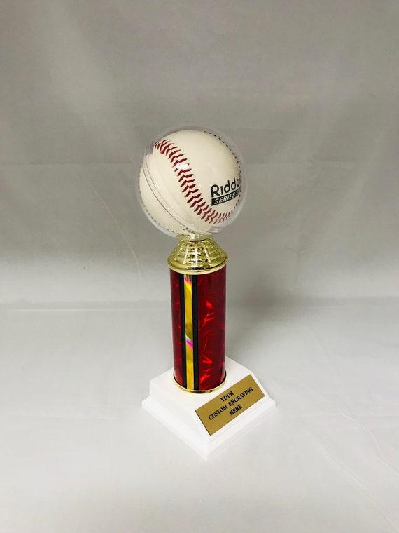 Baseball Trophy Baseball Holder Free Engraving.