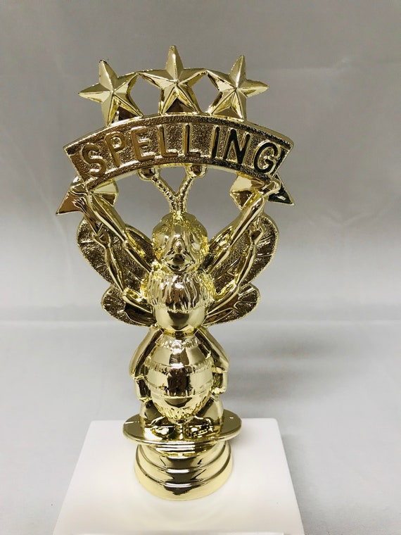 """10/"""" Spelling Bee Trophy Award with free engraving"""