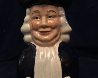 Vintage Quaker Oats Co Centenary Special Edition Toby Jug. Wood & Sons.