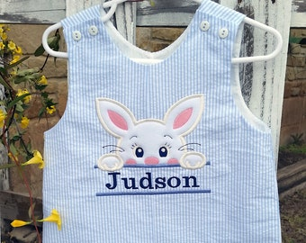 Boys Personalized Easter Shortall