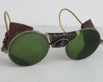 Vintage Motorcycle/Welding Goggles