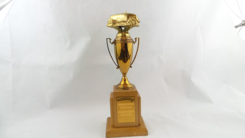 1950/'s NHRA Drag Racing Trophy