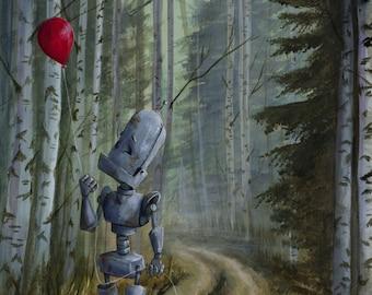 BALLOON-BOT robot painting PRINT