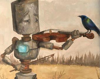 Violin Bird Bot