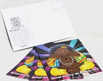 Biggie Smalls Buddha 4x6 post card