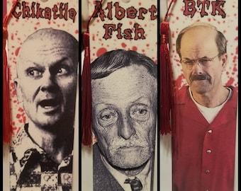 Horror Bookmarks