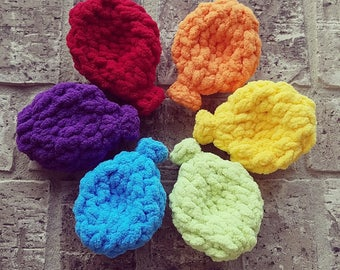 Reusable Crocheted Water Balloons, Machine Washable, Eco-friendly Water Toy, Pool Party Toy