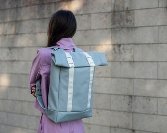 Street style backpack, Rall top bag, Unisex style