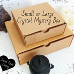 Crystal Mystery Box | Crystal Kit With a Variety of Intuitively Chosen Crystals | Small or Large Crystal Box