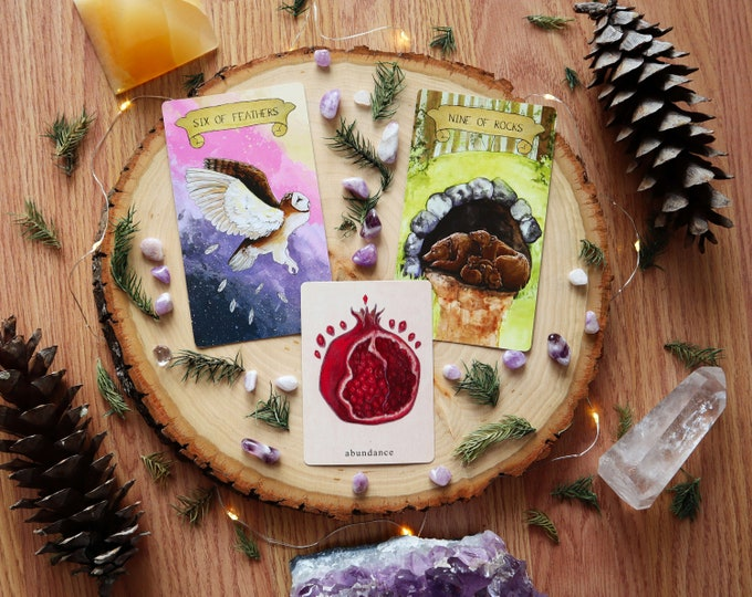 Featured listing image: Intuitive Tarot Reading | 3 Card Tarot Reading