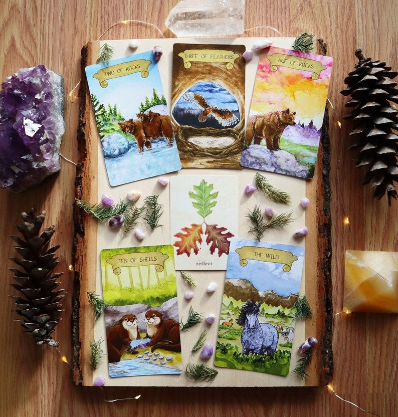 Intuitive Explorer Tarot Reading  6 Card Tarot Reading image 0