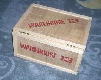 Warehouse 13 DVD Storage Crate