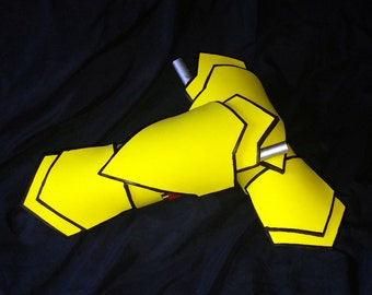Yang's Ember Celica Gauntlets   RWBY (See description for sizing) NO Halloween Delivery