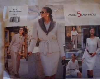 Vogue 1710 Classic Sewing Pattern