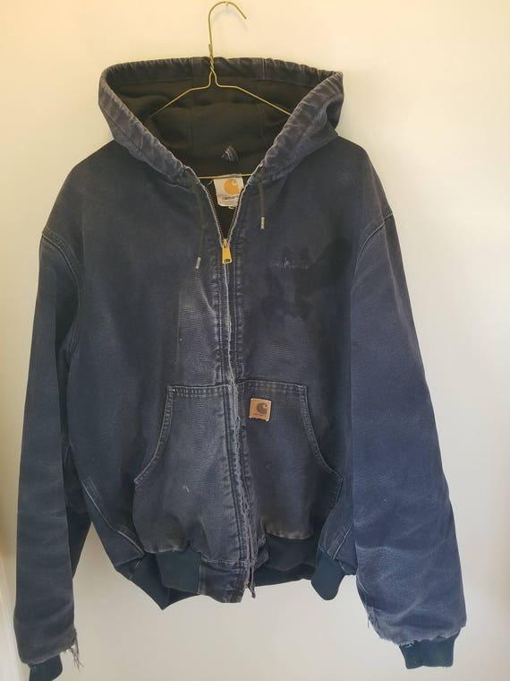 Vintage used Carhartt hooded Jacket